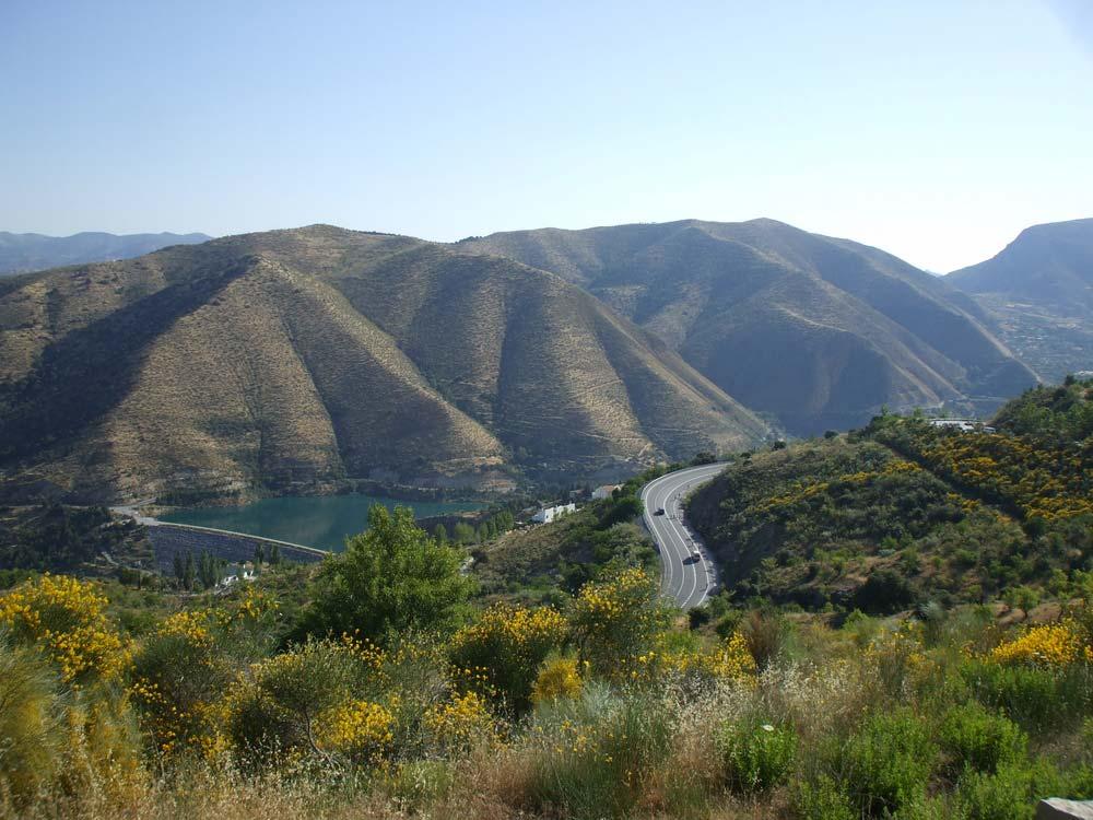 A Río Genil völgye