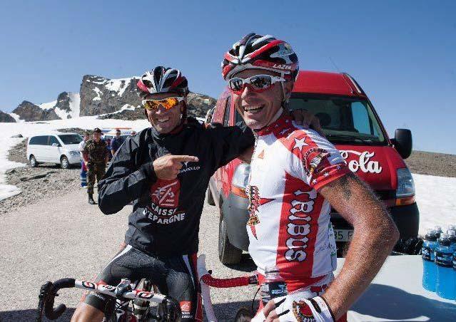 A győztes és Valverde a célban