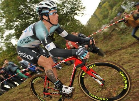 Chavanel a Buxerolles-i versenyen - Fotó: www.les-actus-du-cyclisme.com