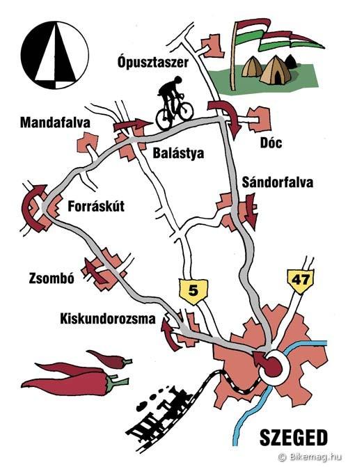 Körök és sugarak: Szeged