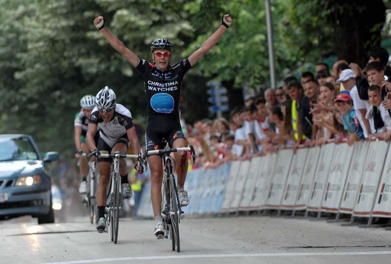 Michael Rasmussen etapgyőzelme