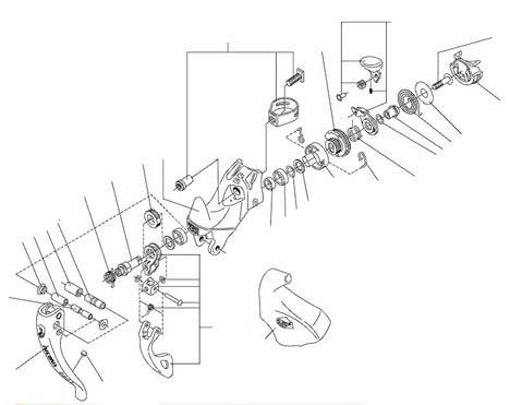 Az Ergopower a teljes mechanikát a fékkartesten belül rejti el, melynek elvitathatatlan előnyei vannak