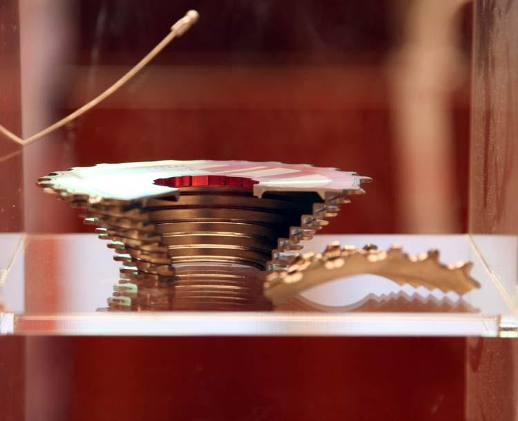 A Red üreges lánckeréksora egyetlen darab Cr-Mo tömbből készül