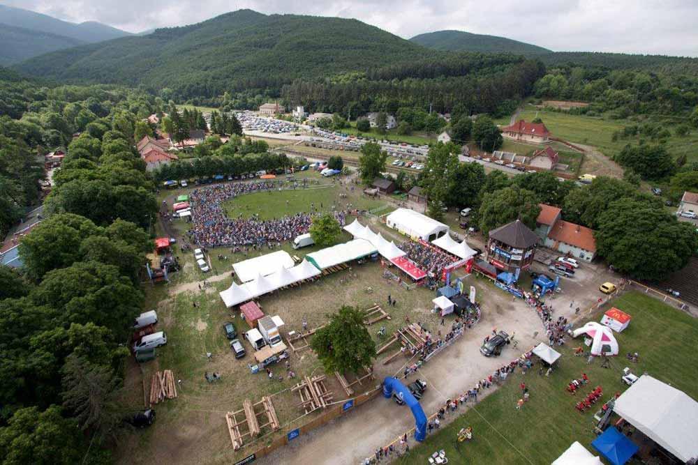 Specialized Maraton Szilvásvárad 2011: A versenyközpont madártávlatból