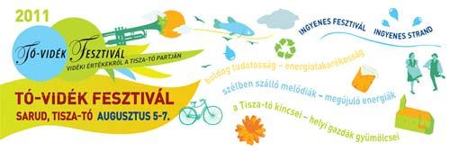 Tó-vidék Fesztivál 2011: kerekező kerékpáros kalandtúra a Tisza-tó körül