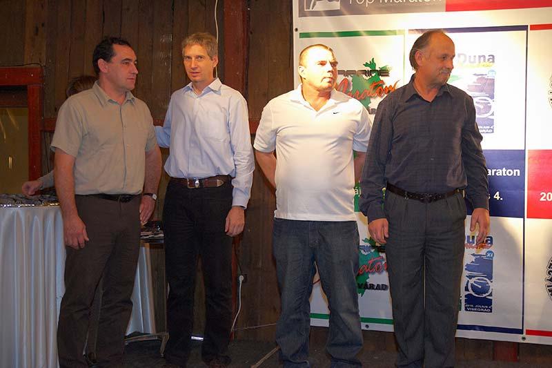 A sorozat versenyszervezői: Tarnai Csaba, Eisenkrammer Károly, Nagy Ádám és Harangvölgyi András