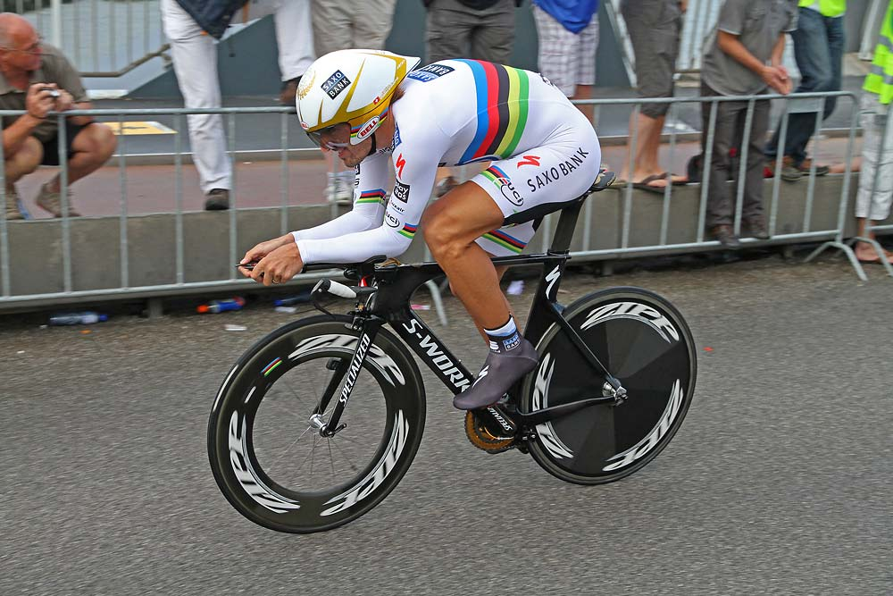 1. Fabian Cancellara (Team Saxo Bank) 10'00""