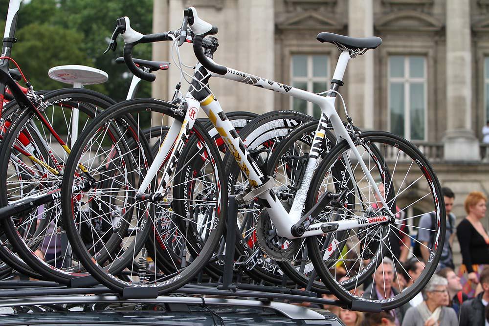 Lance Armstrong pótkerékpárja
