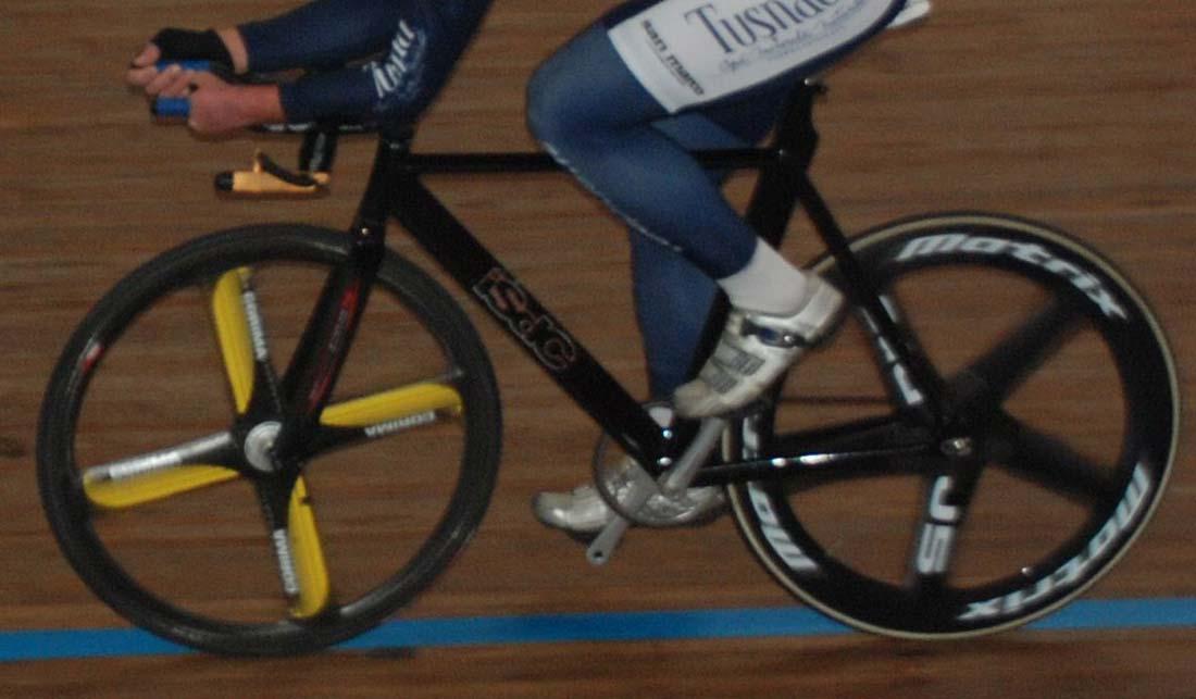 ISDC pályakerékpár – aluminium