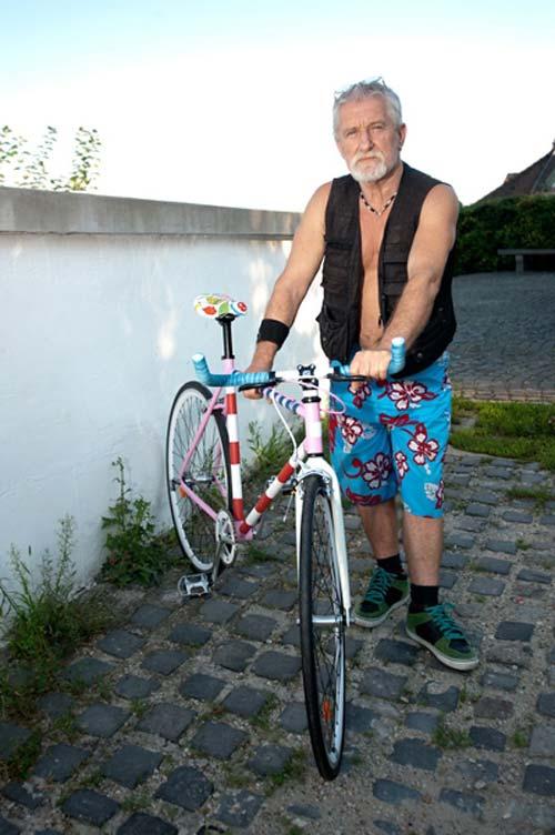 A művész és a műtárggyá minősült kerékpár