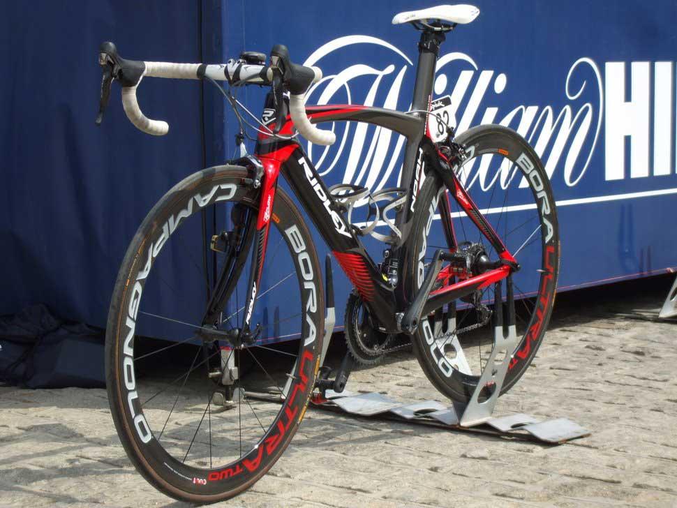 A Contepolis csapatának jó ízlése van a kerékpárok...