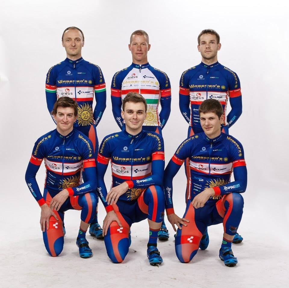 A Waberer's Areus MTB Team