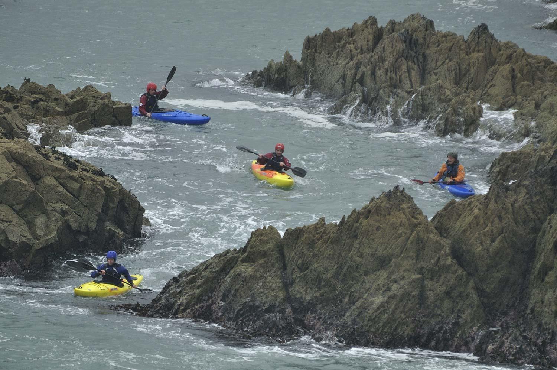 """""""Vízibiciklizés"""" Walesben"""