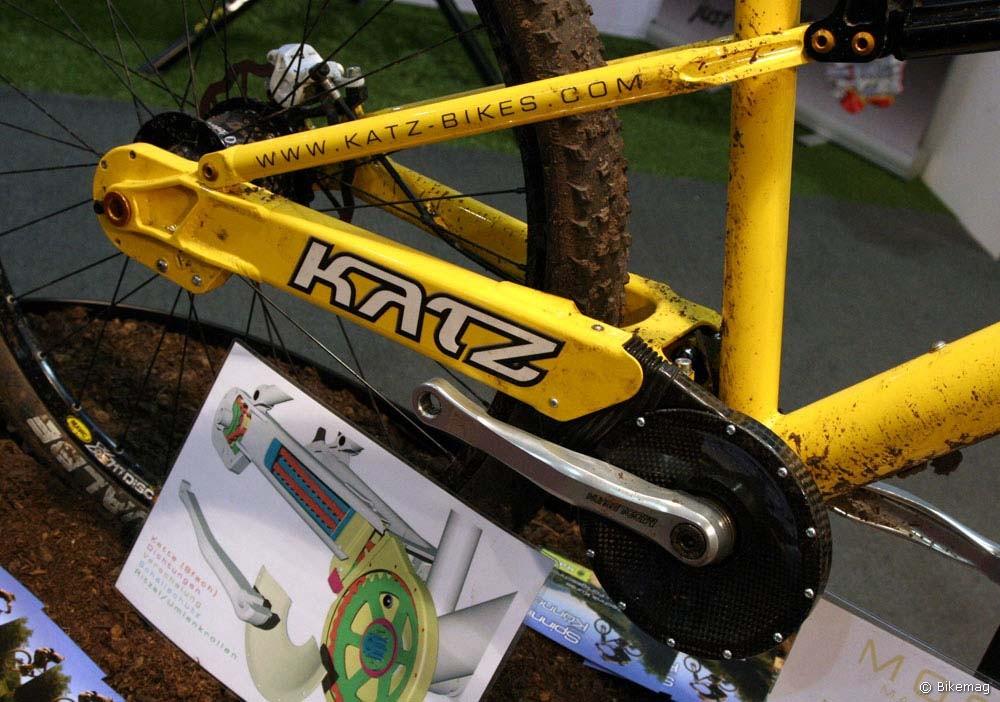 Eurobike 2010: XC / maraton trendek: Katz