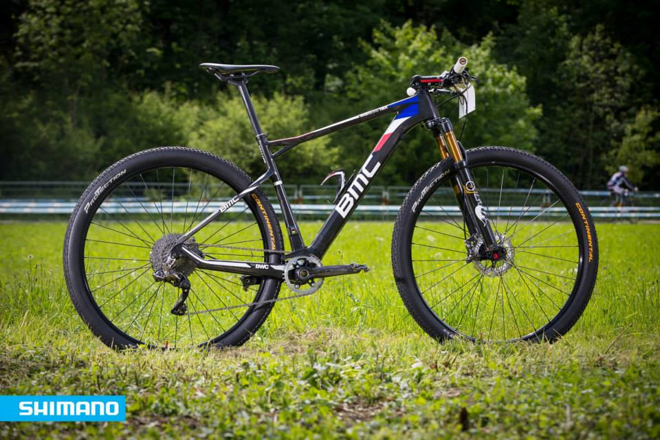 Absalon kerékpárja, Di2 XTR szettel