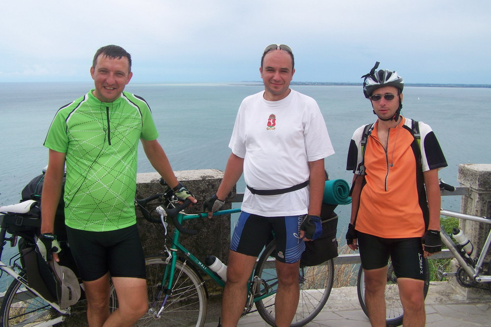 Glockner helyett tengernél a csapat: Zoli, Miki, Imre