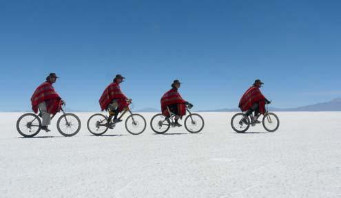 Uyuni - sósíkság Bolíviában