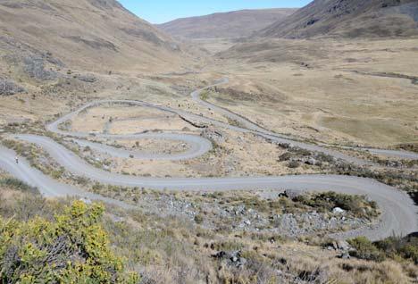 Peru, Huaraz-Huanuco szakasz