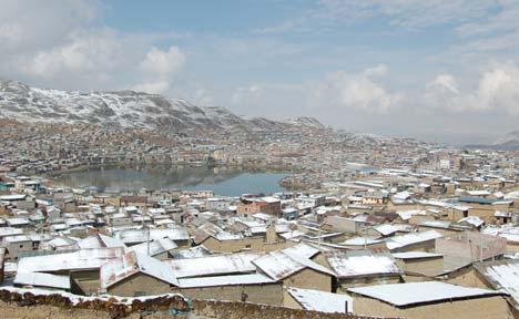 Peru, Huanuco-Huancayo szakasz