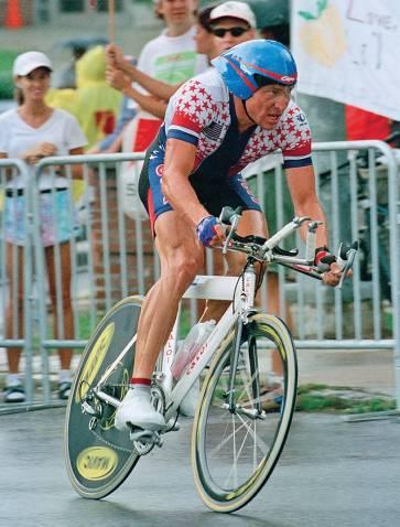 Az 1996-os atlantai olimpián Lance az egyéni időfutam hatodik helyén végzett