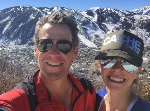 Lance Armstrong és Anna Hansen kedvelt helye Aspen (Fotó: Lance Armstrong twitter)