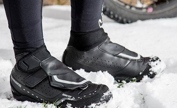 Ilyen körülményekhez talán jobb választás a cipő, mivel az tökéletesen vízhatlan!