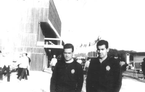 Válogatott színekben - Habony Ferenccel az 1964-es tokiói olimpián