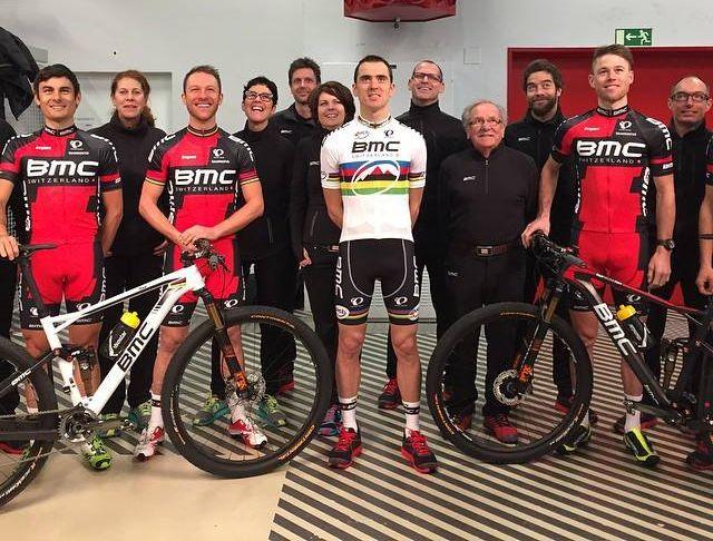 a mountain bike csapat is szerepet kapott az eseményen