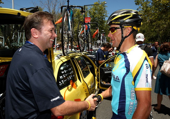 Welcome to Astana, Lance, én majd mindent elrendezek!