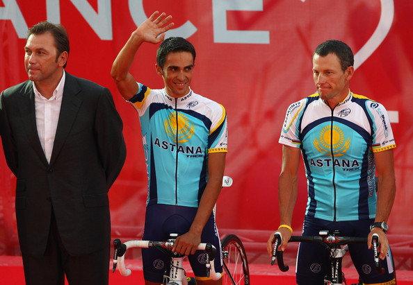 A kényes 2009-es szezon az Astanánál: ki gondolta volna, hogy lesz ennél még nehezebb feladatai is Bruyneelnek...