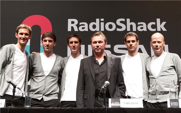 RadioShack csapatbemutató a kényszerű házasságot követően: ebből a helyzetből nem lehetett jól kijönni...