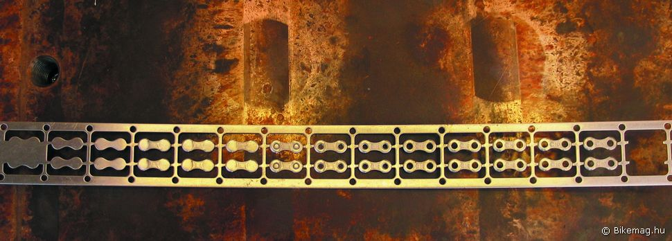 A 10-fokozatú láncokat helyben gyártják