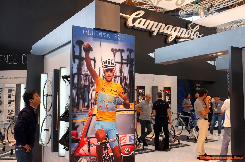 Tour de France: Nibali, Campagnolo