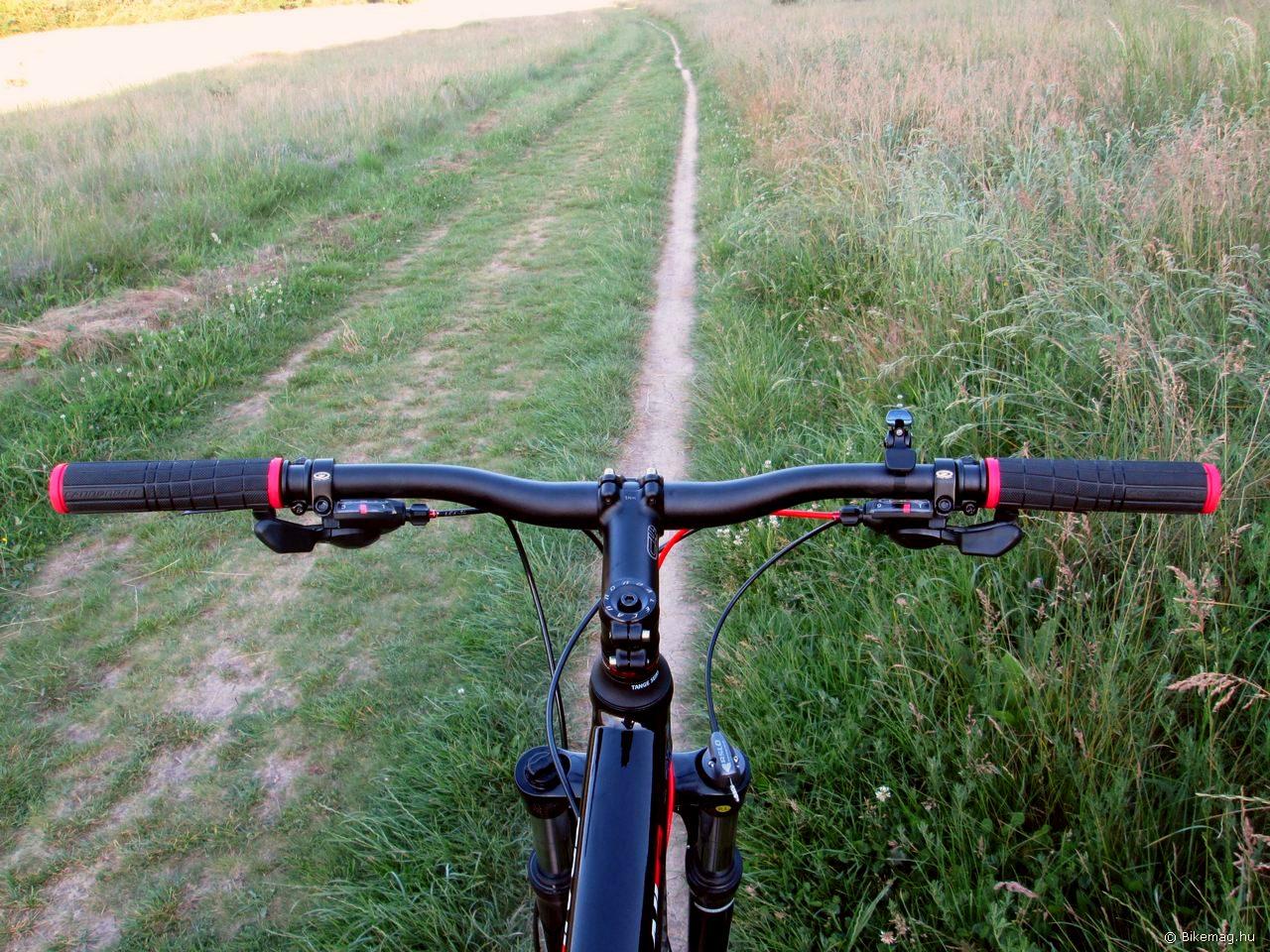 Az Trail 29 5 főleg a göröngyös lejtőkön van otthon