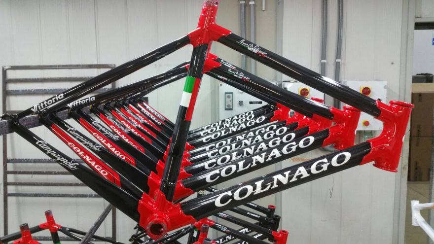 A Colnago C60-asok várják a versenyzőket!