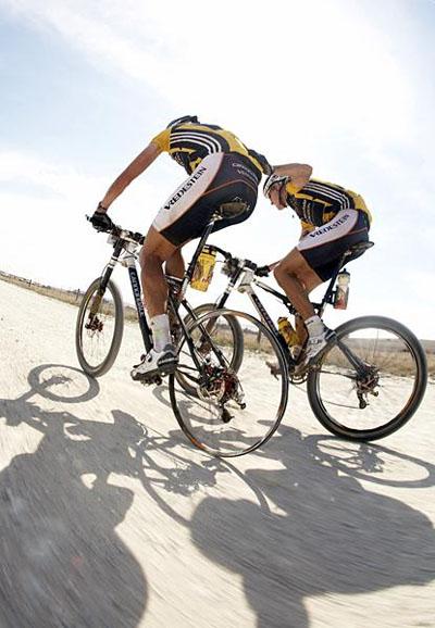 Roel Paulissen és Jakob Fuglsang 2008-ban