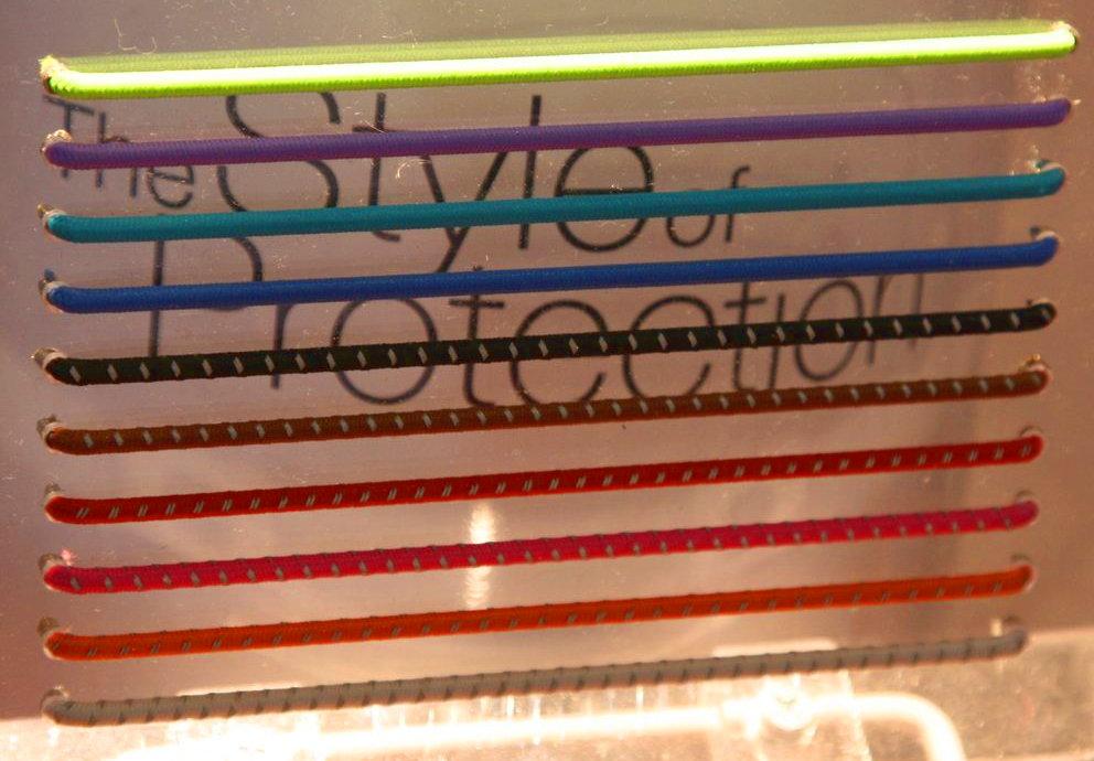 My Style: 16-féle színű, 360 fokból látható cserélhető fényvisszaverő csík