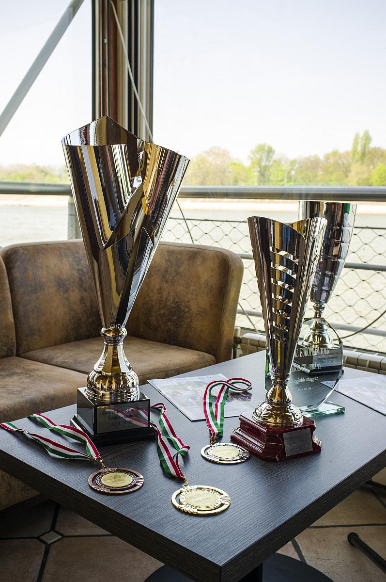 A Central European Tour gazdára váró trófeái