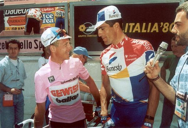 Berzin az Indurain-érában nyert Girót, és 96-ban viselhette a Tour sárga trikóját is