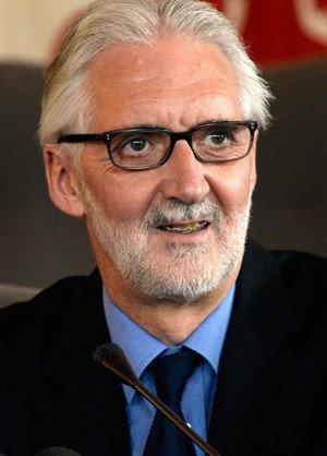Brian Cookson, jelenlegi UCI-elnök
