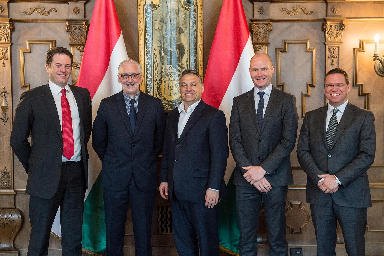 Miniszterelnöki találkozó (Fotó:)