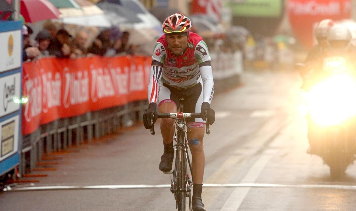 Mazzi második a kemény szakaszon (Fotó: Stefano Sirotti)