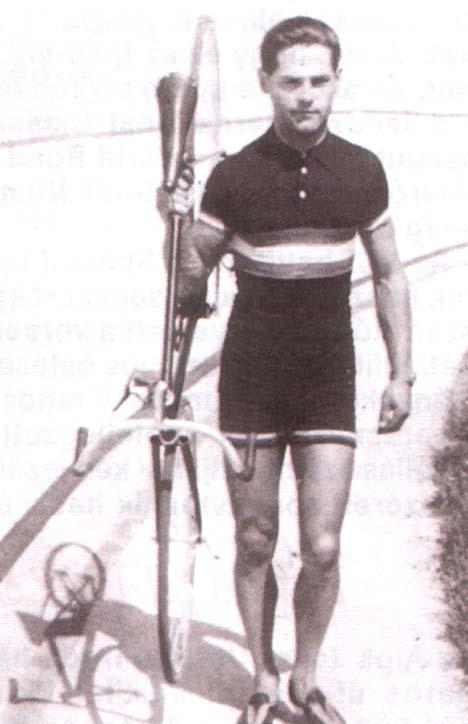 Csikós Gyula, amikor a Balkán-bajnokságot nyerte 30 évesen