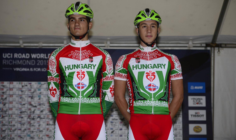 D. Kovács Dávid és Peák Barnabás (Fotó: Stefano Sirotti)