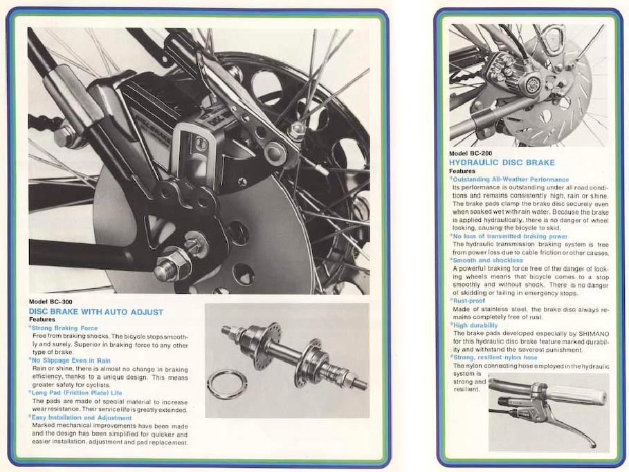 Tudtátok? Már 72-ben volt a Shimanónak hidraulikus tárcsaféke!