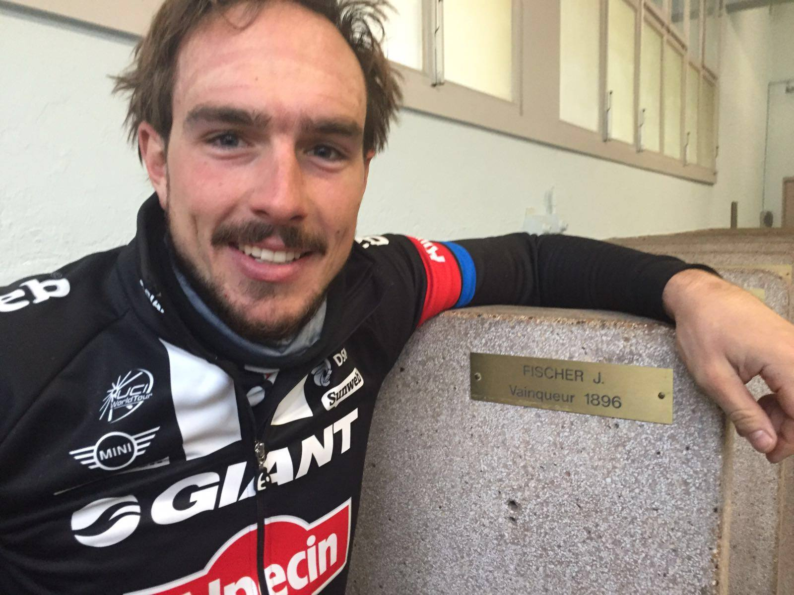 Degenkolb éppen a múlt héten szögezhette fel a győztesnek járó névtáblát a Roubaix velodróm öltözőjében, idén kérdéses még a részvétel is...