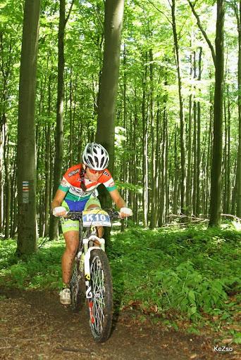 Dósa Eszter magyar bajnokhoz méltóan versenyzett (fotó: Kenyeres Zsolt)