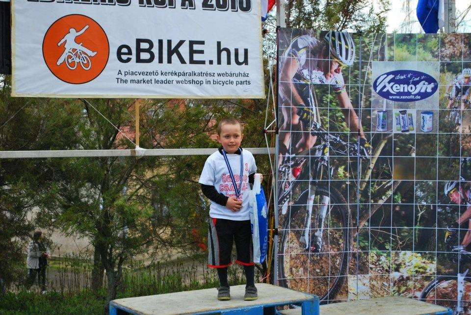 A legfiatalabb versenyző