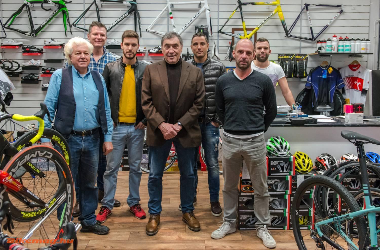 Eddy Merckx először Magyarországon