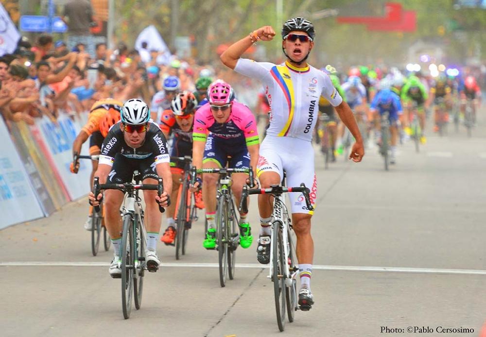 Fernando Gaviria kétszer legyőzte Cavendisht San Luisban (Fotó: Tour de San Luis Prensa)